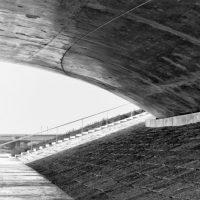 Onder de Waalbrug