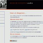 Homepage van reunieclub Geschiedenis 1980