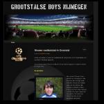 Homepage van de Grootstalse Boys