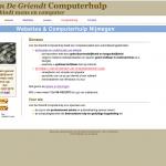Homepage Van De Griendt Computerhulp