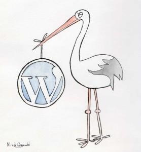 WordPress geboren